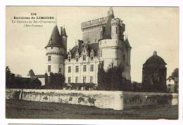 Environs De LIMOGES ( Haute Vienne )  Le Château De RIS-CHAUVERON - Frankrijk