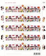 THAILAND - 2013 - Mi 3279 - NATIONAL CHILDRENS DAY - ASEAN - SHEETLET - MNH ** - Thailand