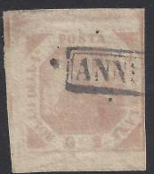ITALIE - 1858 -  DEUX SICILES - NAPLES -  N° 3 - ROSE - OBLITERE - TB - - Sicilia