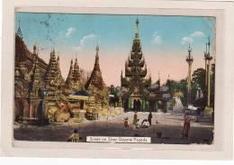ASIE / MYANMAR / Scene On Shwe Dagone Pagoda / Animation - Myanmar (Burma)