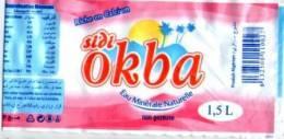 "ETIQUETTE D\'EAU MINERALE  \""SIDI OKBA\"" - Otros"