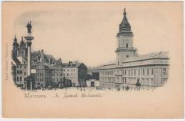 16567g VARSOVIE - Château Krolewski - Pologne