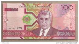 Turkmenistan - Banconota Non Circolata Da 100 Manat -2005- - Turkmenistan
