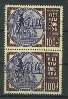 VEND BEAUX TIMBRES DU VIET - NAM DU SUD N° 255 EN PAIRE !!!! - Viêt-Nam