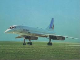 AVIA - CONCORDE - Quadriréacteur Supersonique à Aile Delta. - 1946-....: Moderne