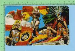 Mexique  ( Costume  De Natif Aztec   ) Post Card Carte Postale - Ethniques & Cultures