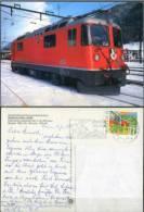 Ak - Eisenbahn,railway - Schweiz - Rhätische Bahn - Elektrische Lokomotive Ge 4/4 Nr. 663 - Eisenbahnen