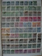 INDIA KONINGIN VICTORIA + KONING EDWARD VII 127 STAMPS COTE 41,70 EUROS - Indien (...-1947)