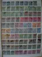 INDIA KONINGIN VICTORIA + KONING EDWARD VII 127 STAMPS COTE 41,70 EUROS - India (...-1947)