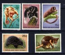 PAPUA  NEW  GUINEA  1971  **  MNH  ANIMALES - Papouasie-Nouvelle-Guinée