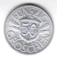 @Y@    OOSTENRIJK  50 Groschen 1952 UNC   (C424) - Austria