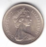 @Y@    Groot Brittanië   5 New Pence  1977  UNC   (C425) - 5 Pence & 5 New Pence