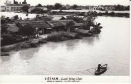 Country Landscape Scene Vietnam, C1950s/60s Vintage Real Photo Postcard - Vietnam