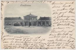 16610g EINDHOVEN - Stationsplein - 1900 - Eindhoven