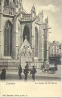 Louvain : Le Choeur De St. Martin Nels Série 36 N°67 + Marchande De Glaces Ambulante Et Chiens 1901 - Leuven