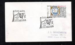 MOSTRA PHILATELIC, SADDLE, CACHET ON COVER, 1991, ESPANA - Marcas De Censura Nacional