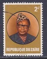 Zaire, Scott # 1055 Used Mobutu, 1982 - 1980-89: Used