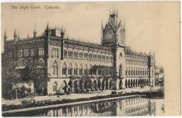 Vintage Postcard, The High Court, Calcutta, India (ref.#-2687e) - India