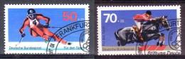 1978  Allemagne F�d�rale  Y&T no. 805 + 815, oblit�r�, Lot 14139