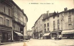 01 - AMBÉRIEU-EN-BUGEY - Ain - Place Du Centre - France