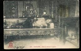 VIETNAM HO-CHI-MINH-VILLE / Saigon, Chinois Fumant L'Opium / - Viêt-Nam