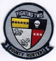 PATCH ECUSSON FIGHTING TWO BOUNTY HUNTERS - Aviazione