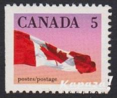 1990 - CANADA - Y&T 1129 - Flag/Drapeau (MNH/**) - 1952-.... Regering Van Elizabeth II
