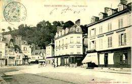 N°28714  -cpa Pont Audemer -place Vallemont - Pont Audemer