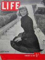 Magazine LIFE - FEBUARY 18 , 1946   -  1/-         (2968) - Nouvelles/ Affaires Courantes