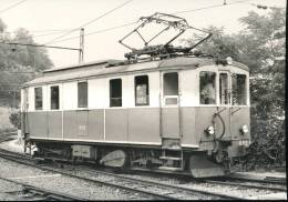Genova, Piazza Manin --- Automotrice B 52  , Ex Val Di Fiemme --- 11.7.1976    --- BVA - Treni
