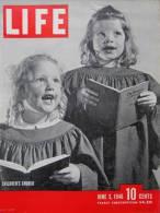 Magazine LIFE - JUNE 3 , 1946      (2973) - Nouvelles/ Affaires Courantes
