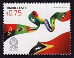 2011 MNH ** Timor Leste Timor East  20 ^ Of AICEP  1 V.  Sc 370 Mi 389 - East Timor