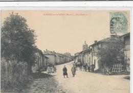 SAINT MARD SOUS LE MONT Rue Dessous (animée , Chevaux ) - Autres Communes