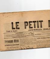 Samedi 13  Novembre 1915 - Journaux - Quotidiens