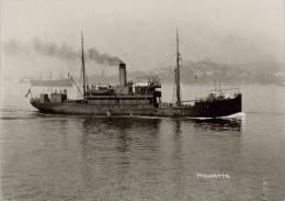 MAWATTA Burns-Philp & Patrick SS Co, Ex GERMANIA Ship 6x4... Modern - Piroscafi