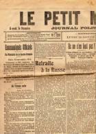 Lundi 15   Novembre 1915 - Zeitungen