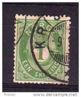 Norvège N° 16 Oblitéré - TP Avec Léger Défaut - Cote 45€