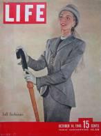 Magazine LIFE - OCTOBER 14 , 1946      (2976) - Nouvelles/ Affaires Courantes