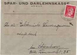 P441 - TRIMBACH - 1943 - Entête SPAR UND DARLEHNSKASSE  - - Alsace-Lorraine