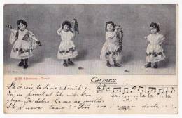 """OPERA """"CARMEN"""" ALTEROCCA TERNI Nr. 4528 OLD POSTCARD 1905. - Opera"""