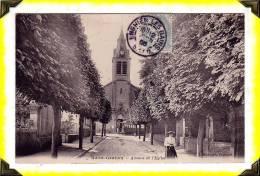 CP N°....    -  St Gratien  -  Avenue De L´Eglise  -  95 VAL D´OISE - Saint Gratien
