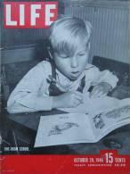 Magazine LIFE - OCTOBER 28  , 1946          (2978) - Nouvelles/ Affaires Courantes
