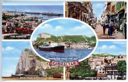 Gibraltar, MBK (5), Mehrbildkarte M. Leporello (12 Bilder) - Gibraltar