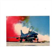 69633)cartolina Illustratoria Serie Militari - Aereo Pattuglia Acrobatica Nazionale Fiat G.91 - Manovre