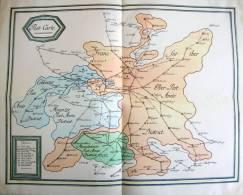 Post-Carte Frankfurter, Mainzer, Coblenzer + Mannheimer  Postamts Districte Nachdruck - Vorphilatelie