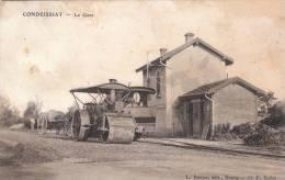 CONDEISSIAT - La Gare . - France