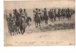 MILITARIA---1914-SUR LE FRONT -LES INDIENS DANS LE NORD DE LA FRANCE--voir 2 Scans - Guerre 1914-18