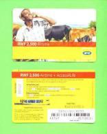 RWANDA - Remote Phonecard As Scan - Rwanda