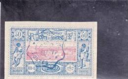 COTE DES SOMALIS - YVERT N° 15 OBLITERE - COTE = 21 EUR. - - Oblitérés