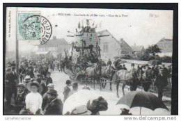 78 - HOUDAN - CAVALCADE DU 28 MAI 1905 - CHAR DE LE TOUR - Houdan